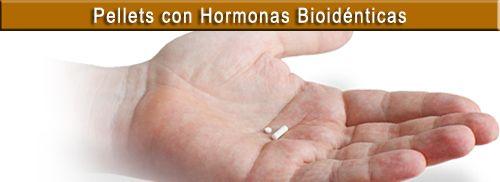 Pellets con hormonas bioidenticas